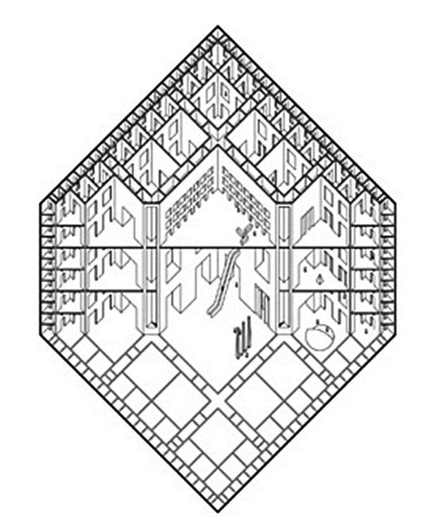 C 1 – Parallelprojektion als 'symbolische Form'