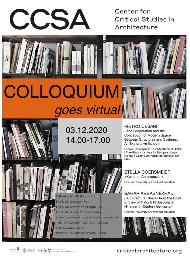 Kolloquium mit Doktorierenden der Goethe-Universität Frankfurt